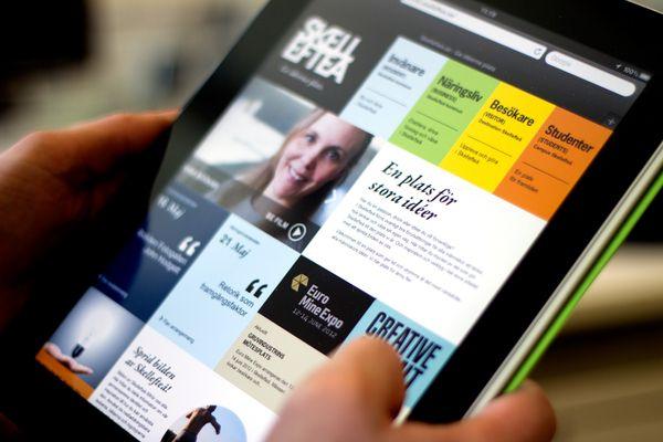 Web / Skelleftea.se on Behance — Designspiration