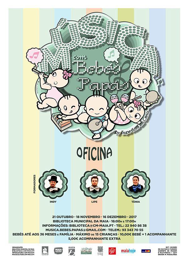 Música para Bebés e Papás | Biblioteca Municipal da Maia