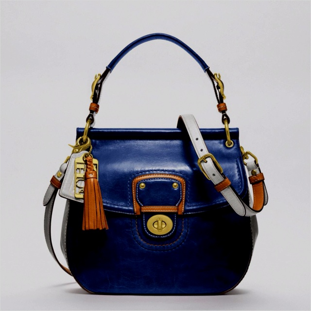 Navy orange the hot comboCoaches Handbags, Coaches Leather, Leather Colorblock, Fashion, Coaches Purses, Style, Coach Purses, Coaches Bags, Coaches Willis