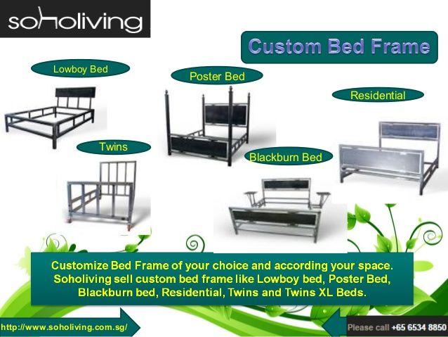 Modern Custom Bed Frame at Soho Living