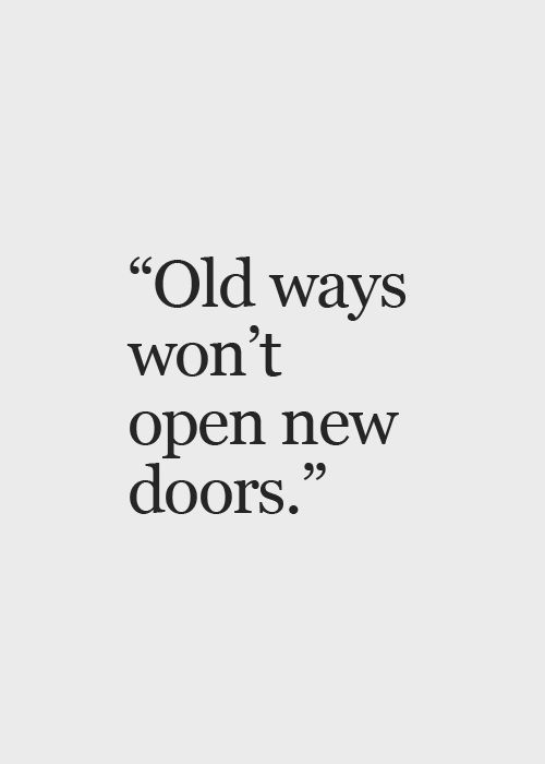 Well if that way, has worked for you till now, why do you require any doors open that stay locked? Make your own way