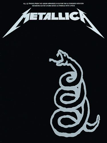 best rock band  black album #metallica