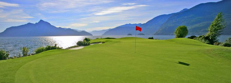 Furry Creek Golf Club - Vancouver, British Columbia, on the Sea to Sky to Whistler