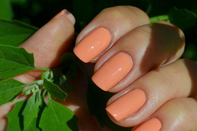 Цветной лак Kalyon для ногтей 220 Персиковый