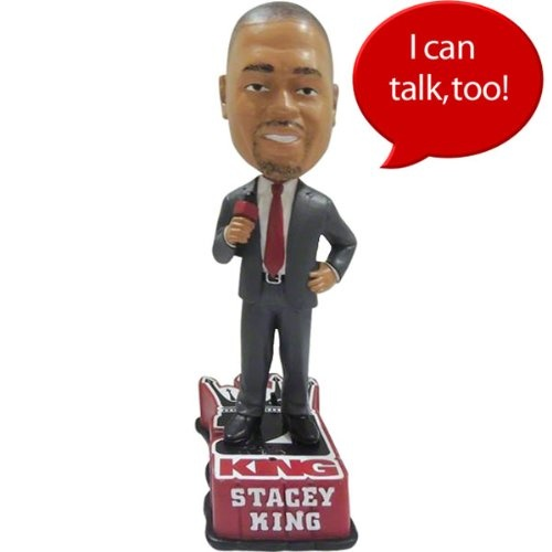 Stacey King Talking Bobble Head- 21King by Stacey King