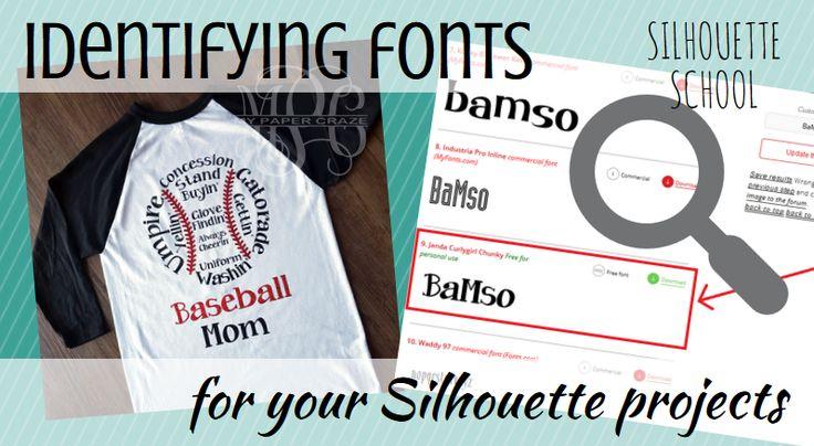 Best Font Identifer Site for Silhouette Studio Projects | Silhouette School | Bloglovin'