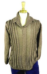 Mens Shawl Collar Sweater Knitting Pattern : 17 Best images about Mens Knitwear on Pinterest Pullover sweaters, Pat...