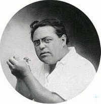 """Jacques Heath Futrelle (April 9, 1875 – April 15, 1912) was an American journalist and mystery writer. He is best known for writing short detective stories featuring Professor Augustus S. F. X. Van Dusen, also known as """"The Thinking Machine"""" for his application of logic to any and all situations. He died on the Titanic"""