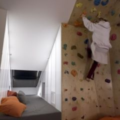 Climbing wall- woah!!! we totally have the walls for this upstairs... maybe when kids are older?
