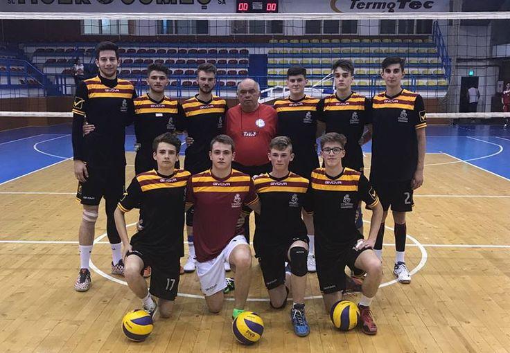 Volei masculin: LAPI Dej, CTF Mihai I și CNNT Craiova pe podiumul Campionatului Național de volei masculin - Divizia cadeți