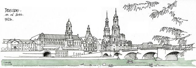 A city in sketch never looks ugly.