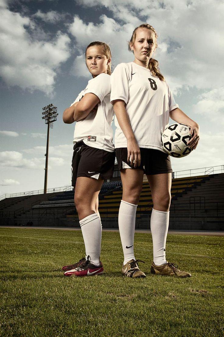 BFF soccer.  Sisters