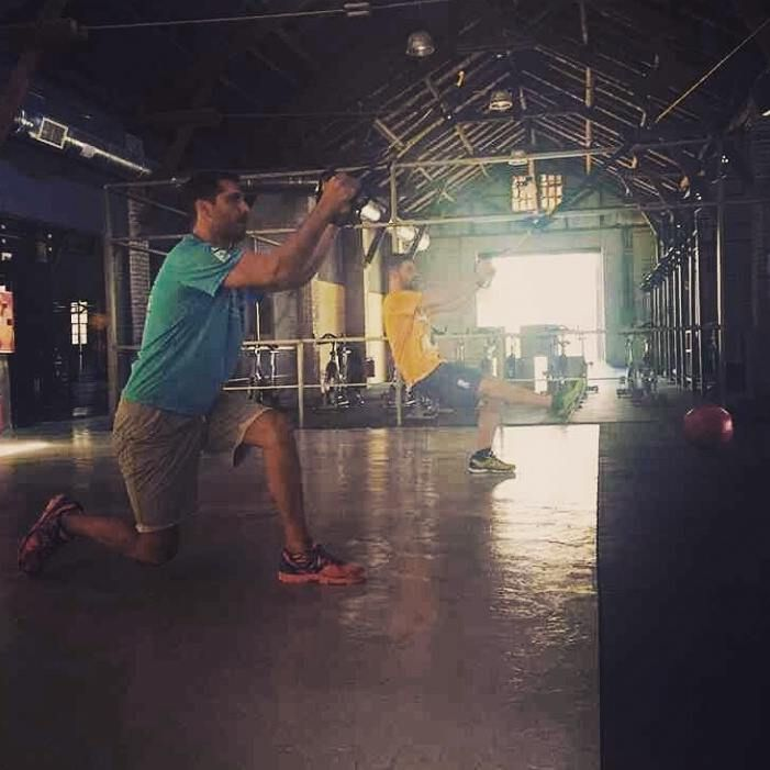 ~Workout time~ #warehouse7 #wh7
