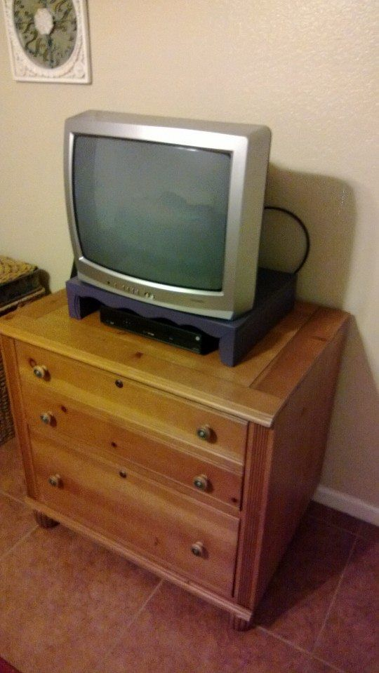 Small TV stand.