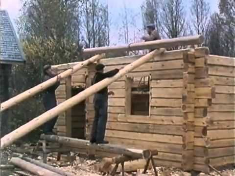 Traditional Finnish Log House Building Process This wonderful video tracks the work from beginning to end. The workmanship of risk exemplified.