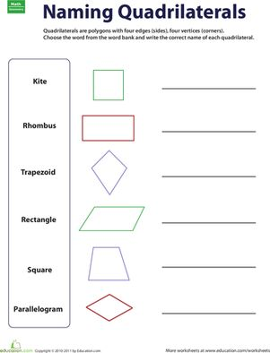7 best geometry images on Pinterest | Third grade math, Colors and ...