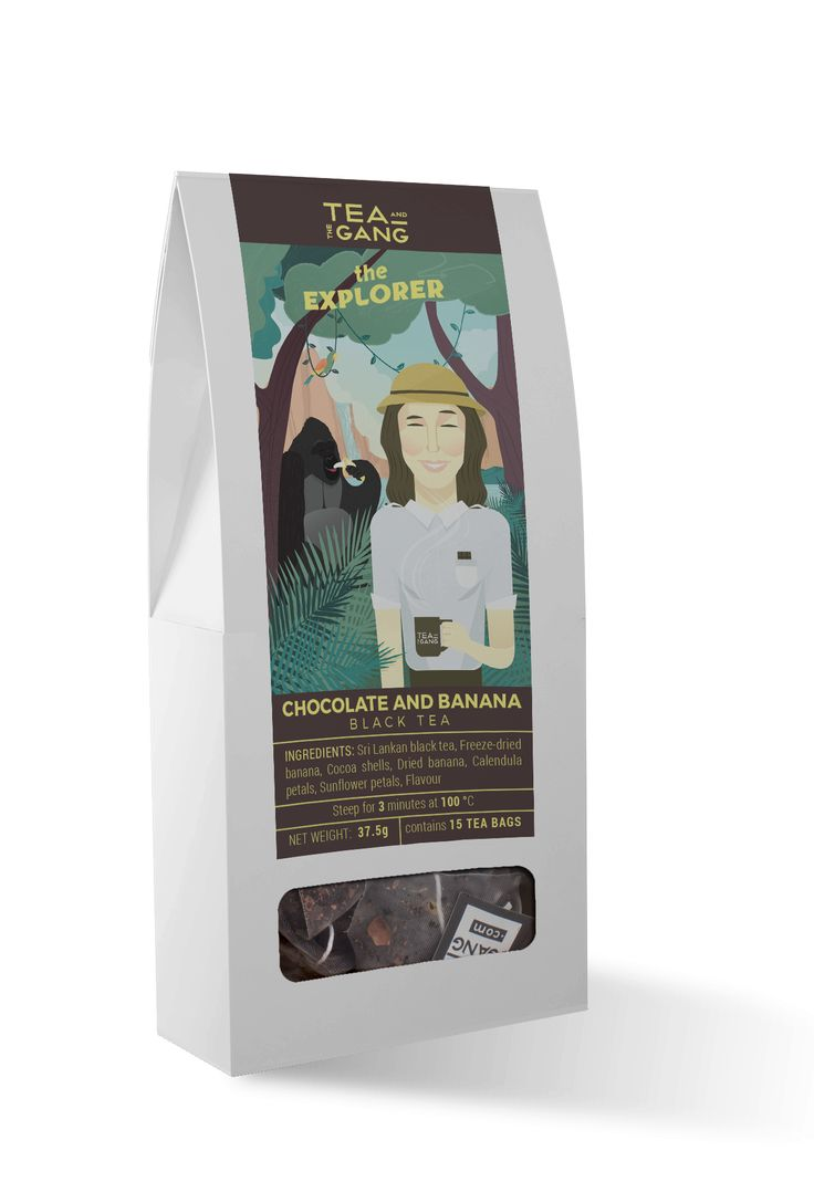 This adventurous black tea blend is the perfect treat for those hankering for a break from the norm. Tropical banana and bold cocoa make the perfect souvenir of voyages to warmer climes. Ingredient…