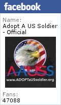 Adopt A US Soldier Project Frontlines - you can send one care package to a Platoon Adopt A Soldier - assigned one soldier to support during entire deployment