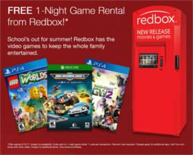 FREE Redbox Video Game Rental on http://www.icravefreebies.com/