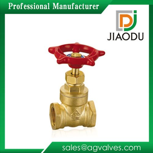 Manufacturers supply brass gate valve wire heavy gate valve copper valve DN25 Yuhuan valve one from the grant
