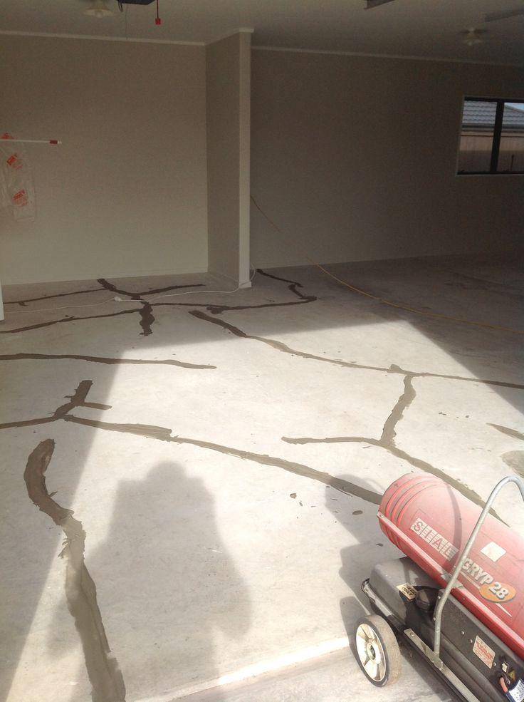 Beautiful Patching Basement Floor