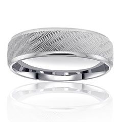 Reis-Nichols Jewelers : Wedding Band - 14 K white gold