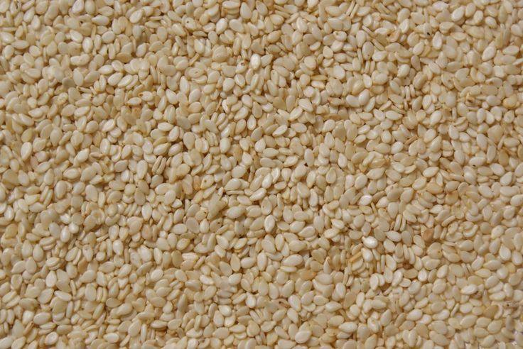 Sezamová semínka jsou velmi zdravou pochoutkou