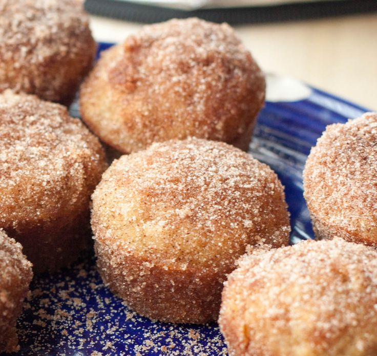 Apple Cider Doughnut Muffins- it's part doughnut, part muffin, made in miniature form. Roll them in cinnamon sugar when they come out for a delectable treat. They will disappear before you know it!