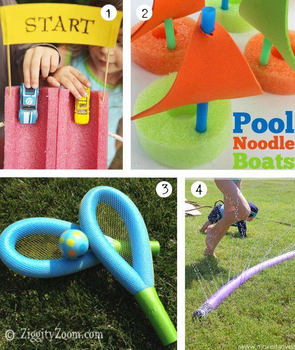 51 besten basteln poolnudel bilder auf pinterest basteln kita und sommerfest - Pool fur kleinkinder ...