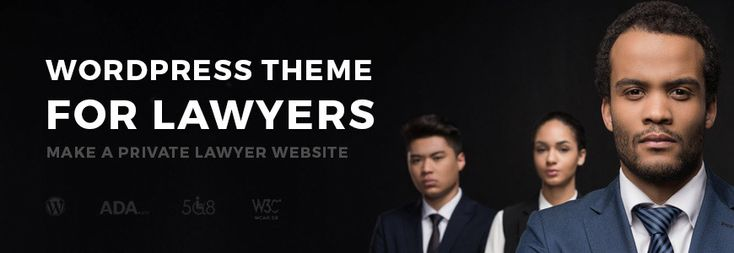 Best lawyer WordPress theme with WCAG 2.0 and ADA compliance. The quick review. #lawyer #WordPress #theme #WCAG #ADA #review
