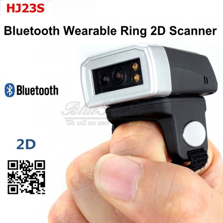 152.99$  Watch more here  - Free Shipping! Portable Pocket Ring Scanner Wearable Mini Bluetooth Barcode Scanner PDF417 QR Code Reader 2D Barcode Scanner