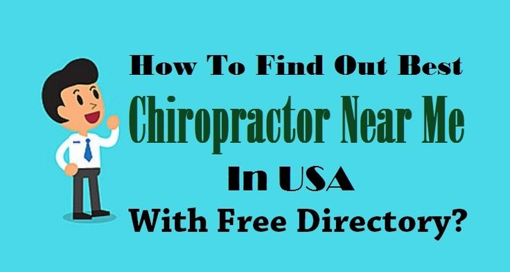 How To Find Out Best #Chiropractor Near Me In #USA With Free Directory ?   #Health #USABusiness #FreeDirectory