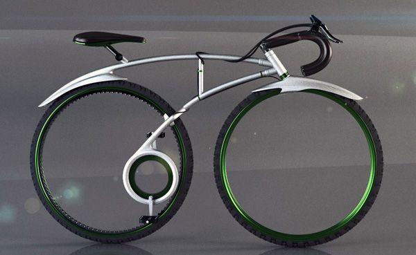 Bike   concept by Allen Chester G. Zhang