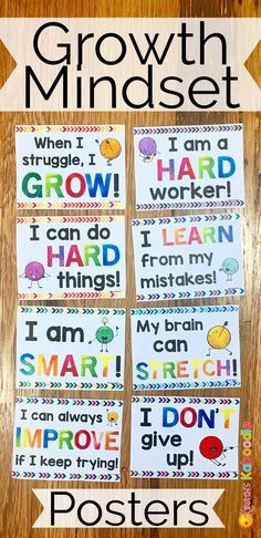 Do you teach your students about growth mindset? Are you aware of the benefits of using positive affirmations? Combine these two powerful approaches and transform student achievement! Easy to use for teachers and super beneficial for students, these 23 affirmation posters for use on a growth mindset bulletin board (created for Kinder, 1st, 2nd, and 3rd grade) will challenge your students thinking about their abilities and their potential.