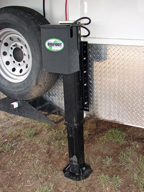 Quot Bigfoot Hydraulic Trailer Jack For Horse Trailers Rv S