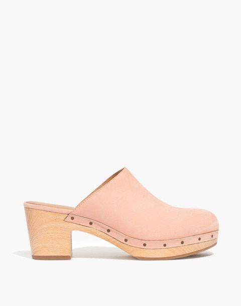 541302700e9d The Ayanna Clog in antique coral image 2 Madewell