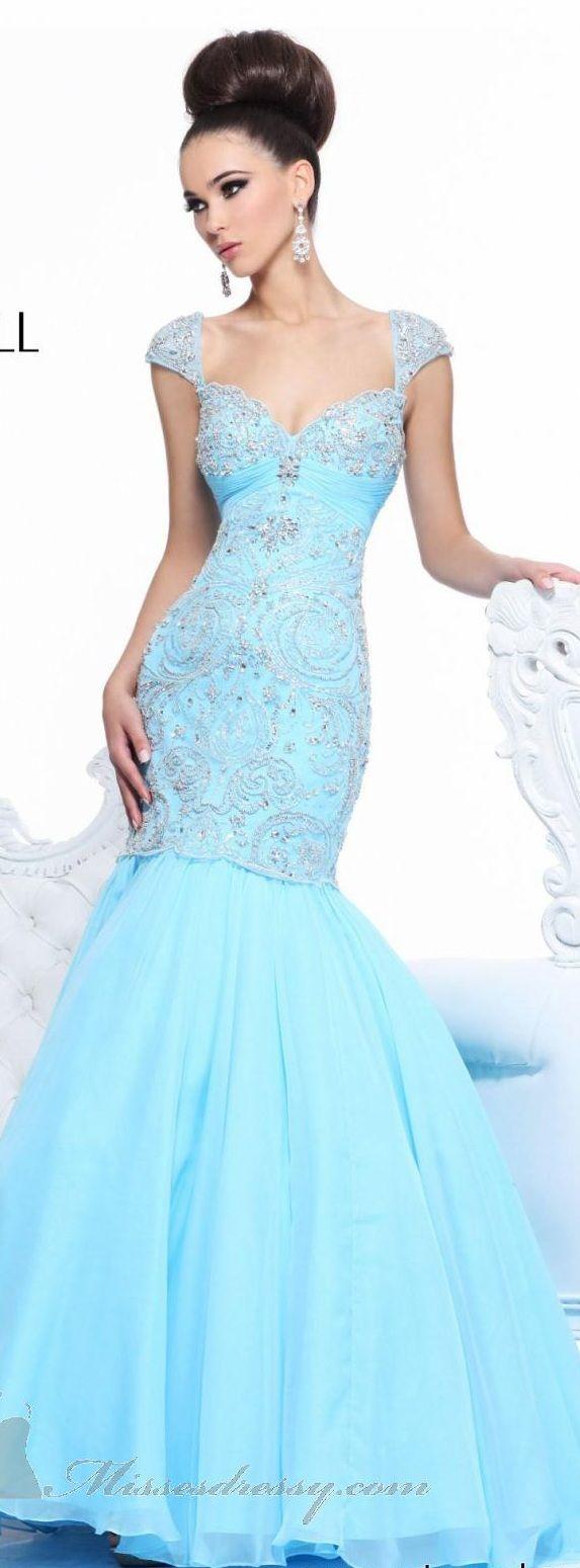 360 best ~ Evening Dresses ~ images on Pinterest | Bridesmaid dress ...