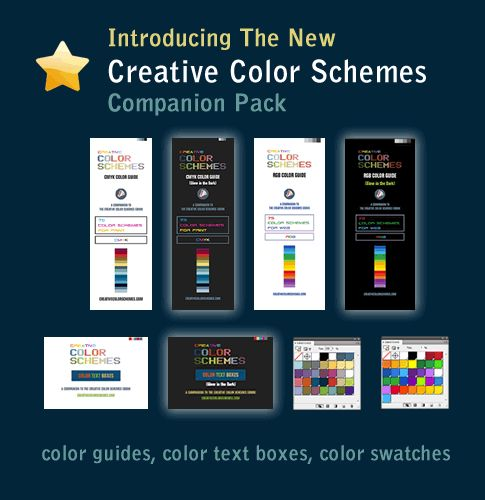 Great Color Schemes | Good Color Combinations | Cool Color Palettes for print and web site