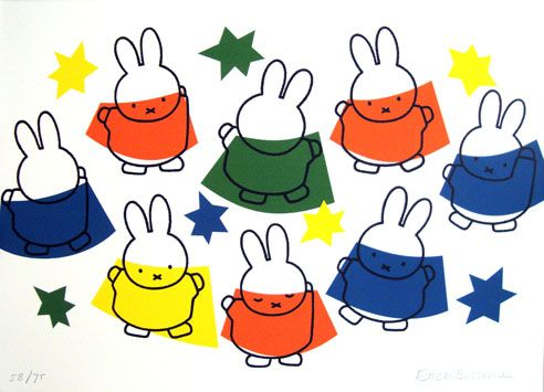 Miffy dancing with the stars - Dick Bruna