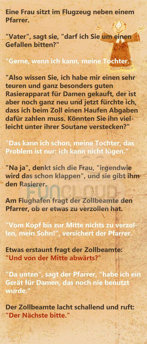 Der korrekte Pfarrer - spruchwerkstatt des Tages 03.04.2016   Funcloud