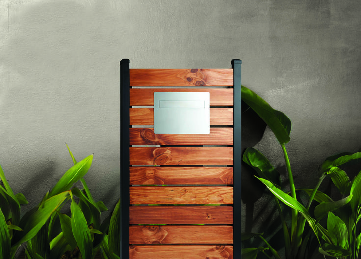 Sandleford Miami Timber Panel #Letterbox #postbox #mailbox