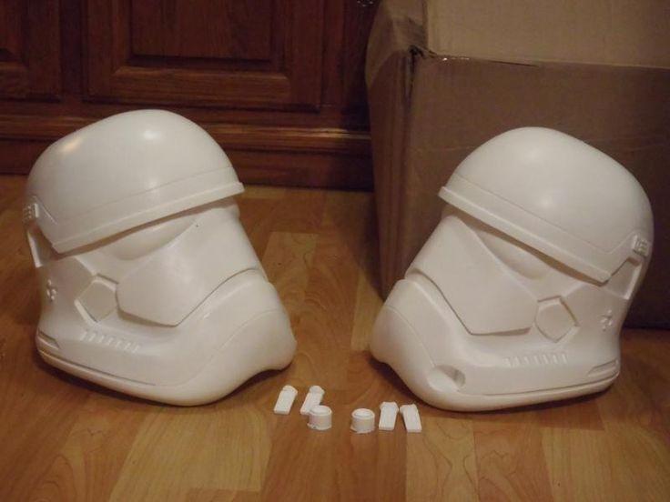 62 best crafts diy projects images on pinterest star wars interest int star wars episode 7 stormtrooper helmet kits paint up teaser first diy lightsaberstar solutioingenieria Gallery