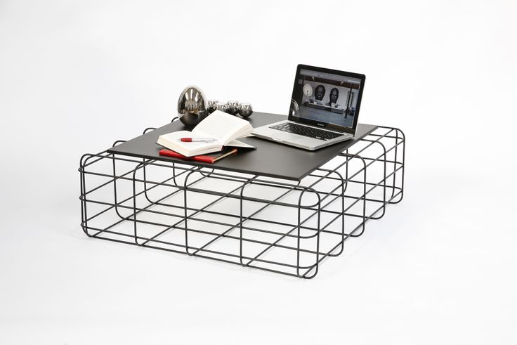 Ronda #design #wire #coffeetable #steel #furniture #coffetable with colored #metal frame and #magnetic top
