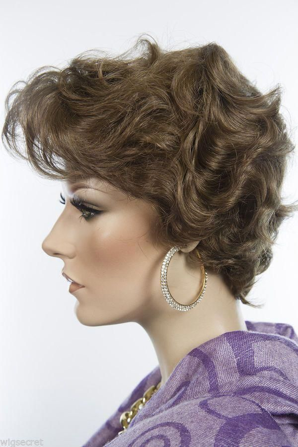 Best Quality Short Blonde Wavy Wig Skin Top Tapered Bnblondewavyquality