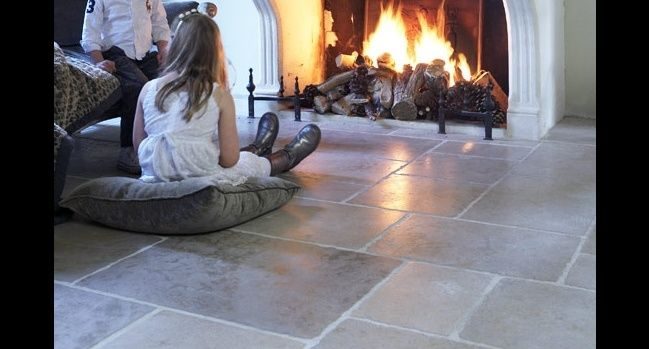 Bourgondische vloer Dallen