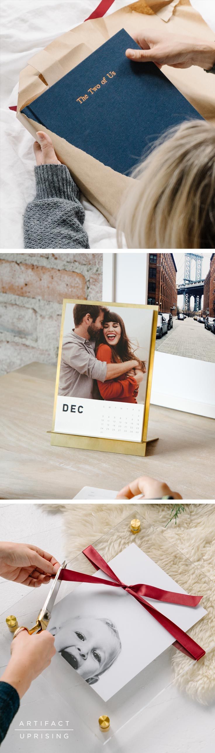 "File these under: ""Things that won't make the re-gift pile"". With personalized photo books, wall art and more from @artifactuprsng, say hello to the best holiday yet."