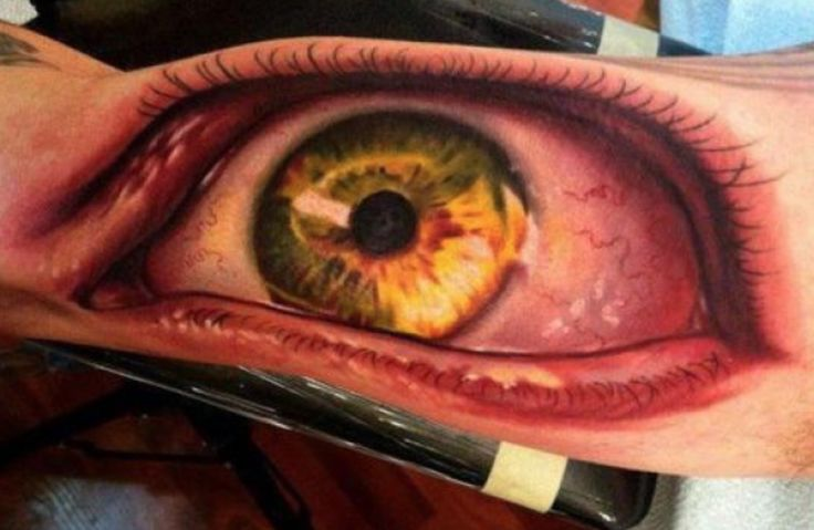 30 Amazing 3-D Tattoos That Will Blow Your Mind Away