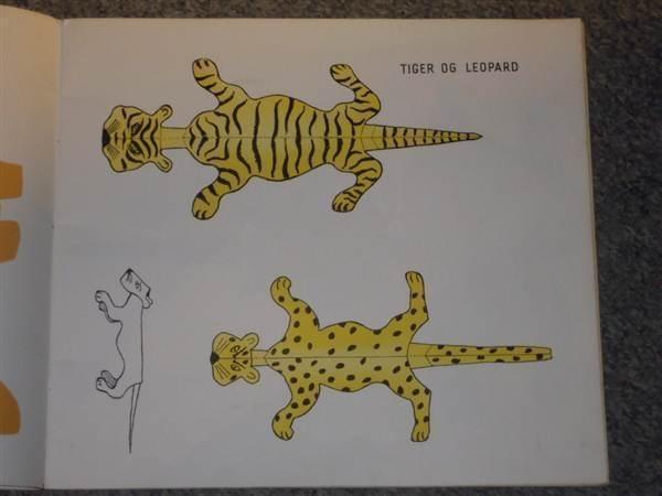 zoologisk have af hans scherfig. dyr til udklip og foldning_4