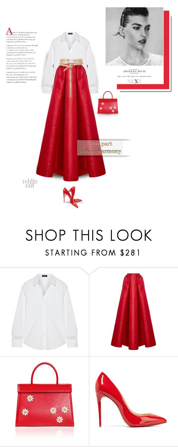 """""""Simplicity. Grace. Elegance. // Top Fashion Sets for Feb 18th, 2018"""" by bliznec-anna on Polyvore featuring Theory, Zac Posen, Christian Louboutin and Isabel Marant"""