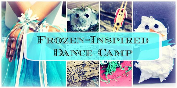 "The Dance Buzz: Our ""Frozen-Inspired"" Dance Camp: Activities & Games"